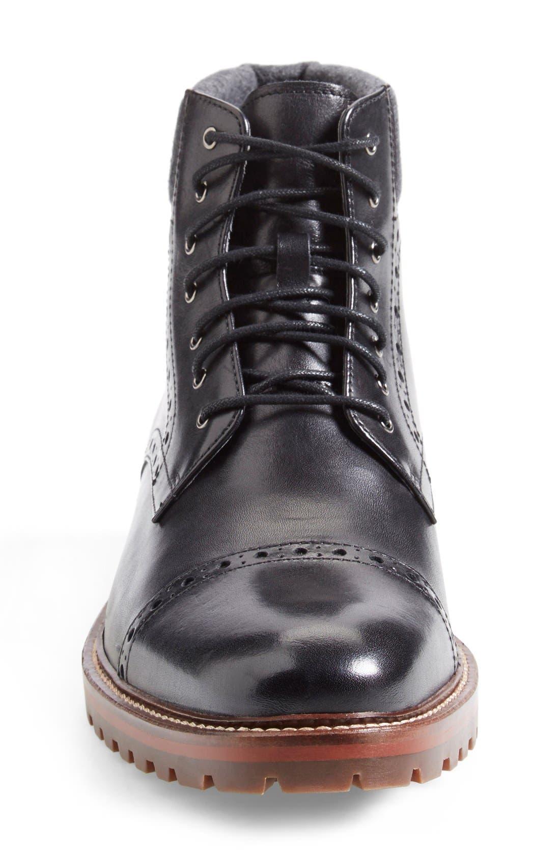 Alternate Image 6  - J&M 1850 'Karnes' Brogue Cap Toe Boot (Men)