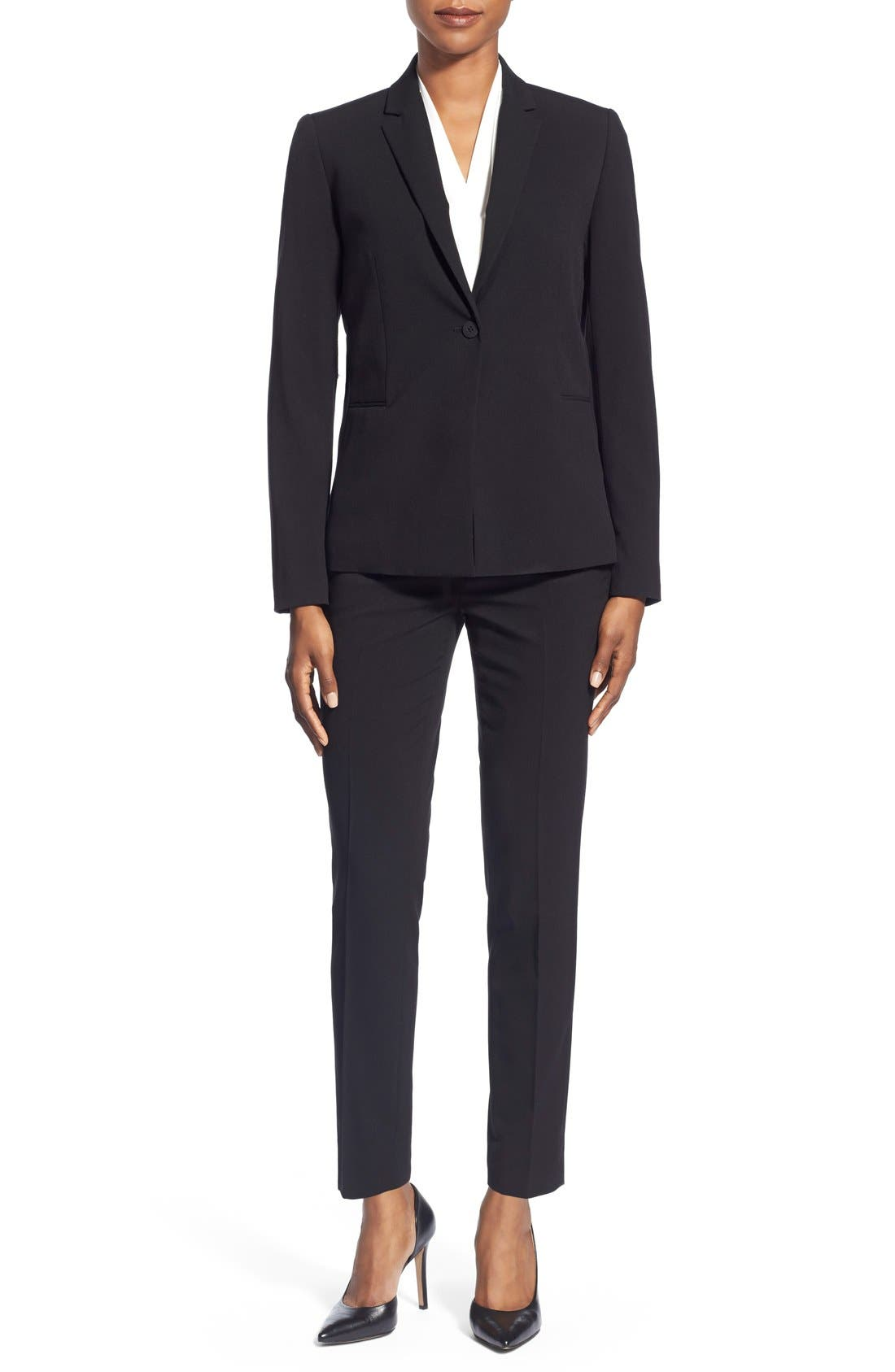 T Tahari Jacket, Blouse & Ankle Pants