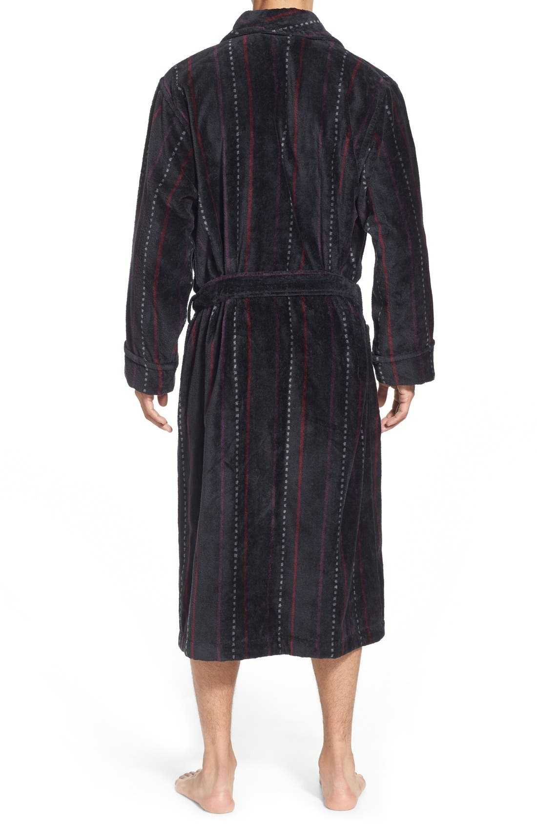 Alternate Image 2  - Nordstrom Men's Shop Terry Shawl Robe