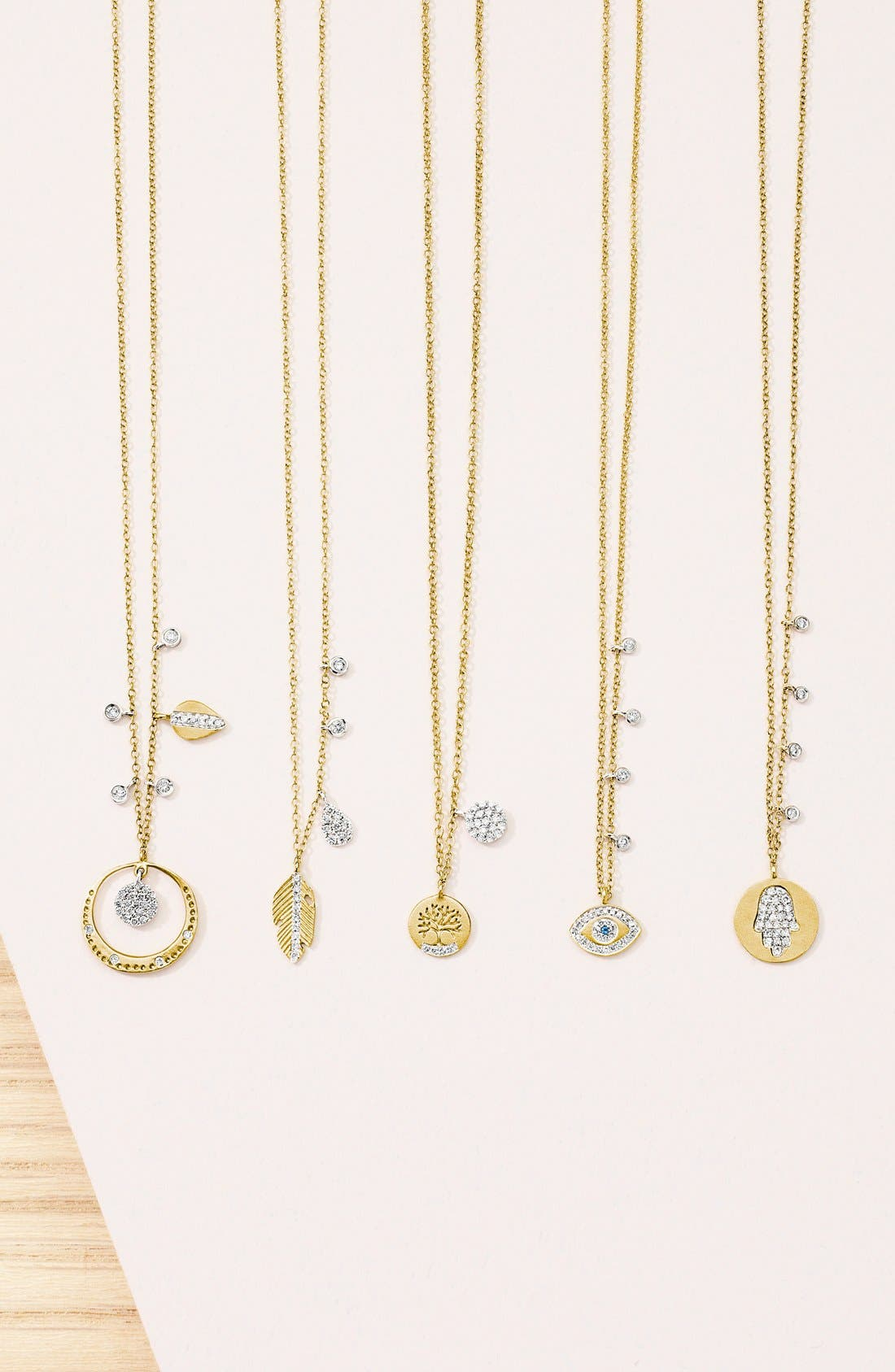 Tree of Life Diamond Pendant Necklace,                             Alternate thumbnail 3, color,