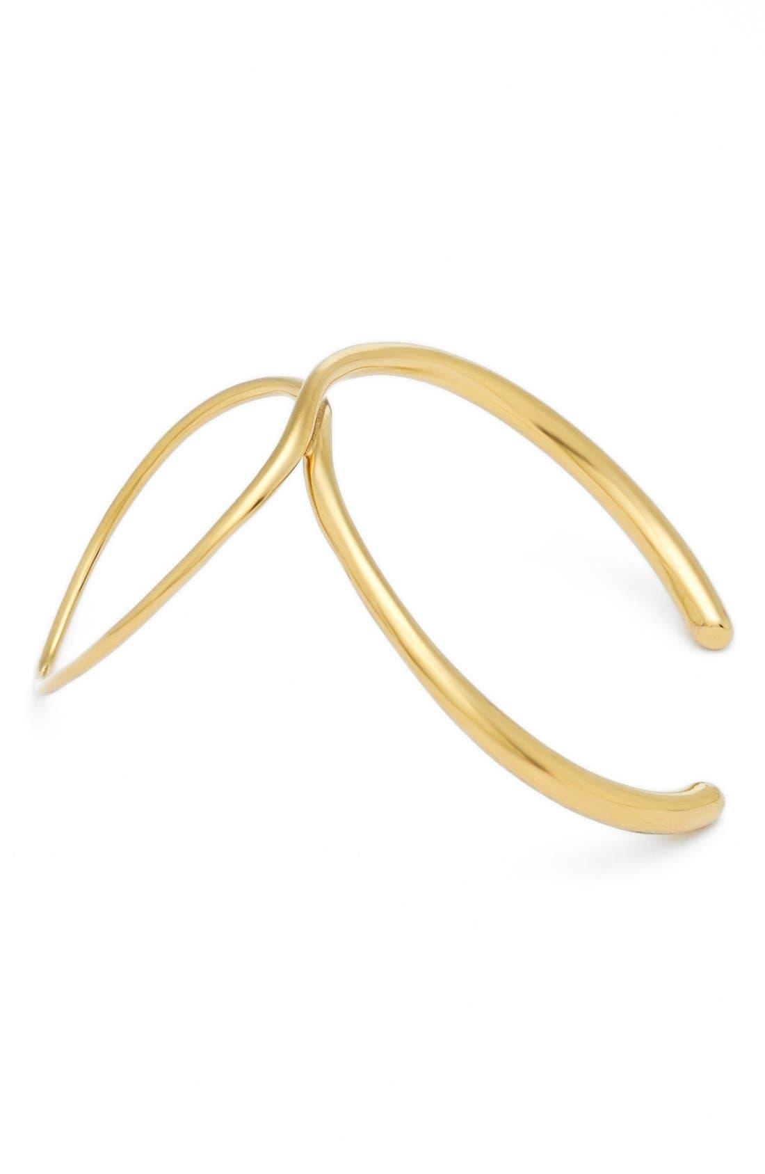'Bond' Bracelet,                             Main thumbnail 1, color,                             Vermeil