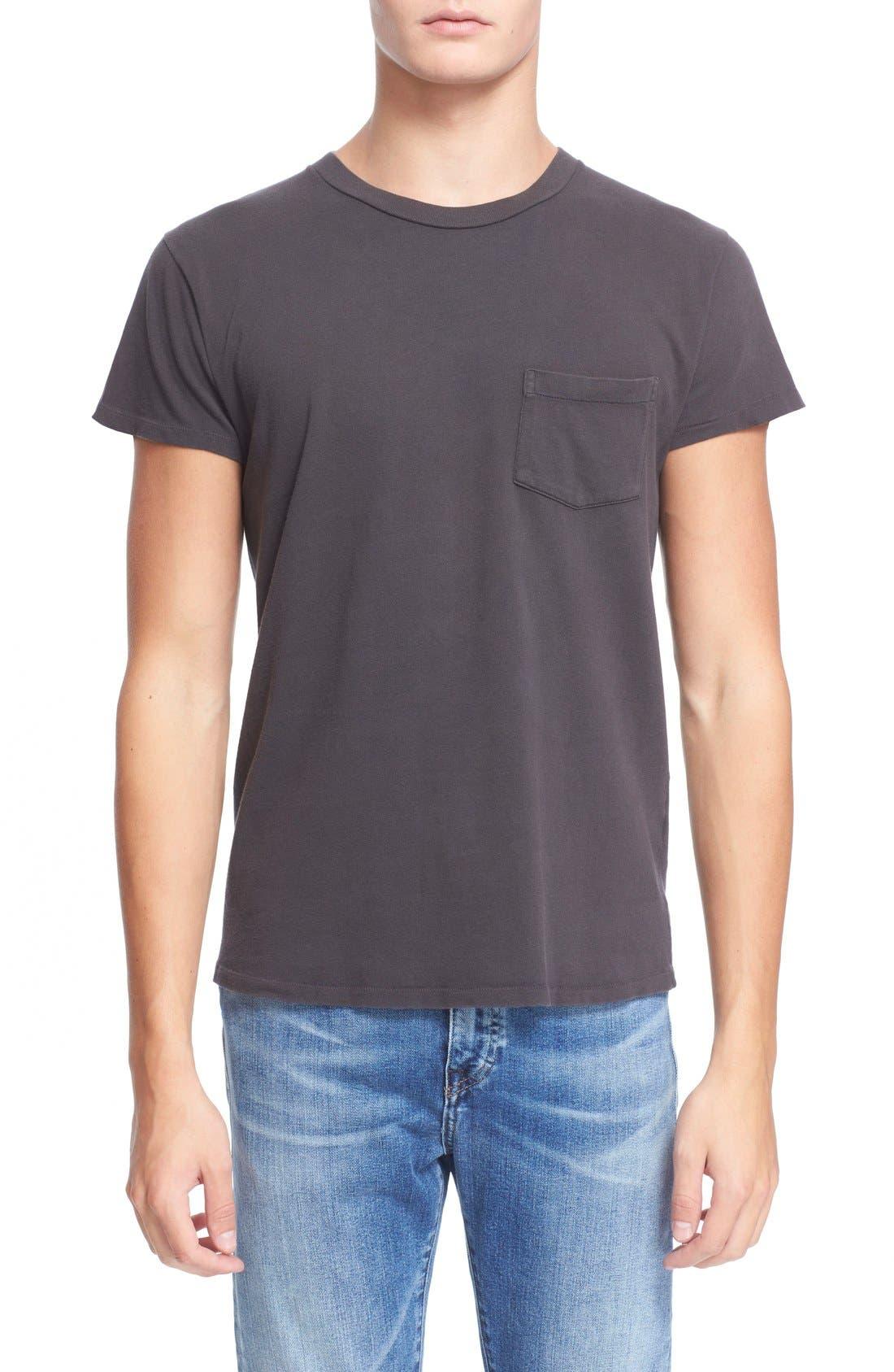 Levi's Vintage Clothing '1950s' Pocket T-Shirt,                         Main,                         color, Black