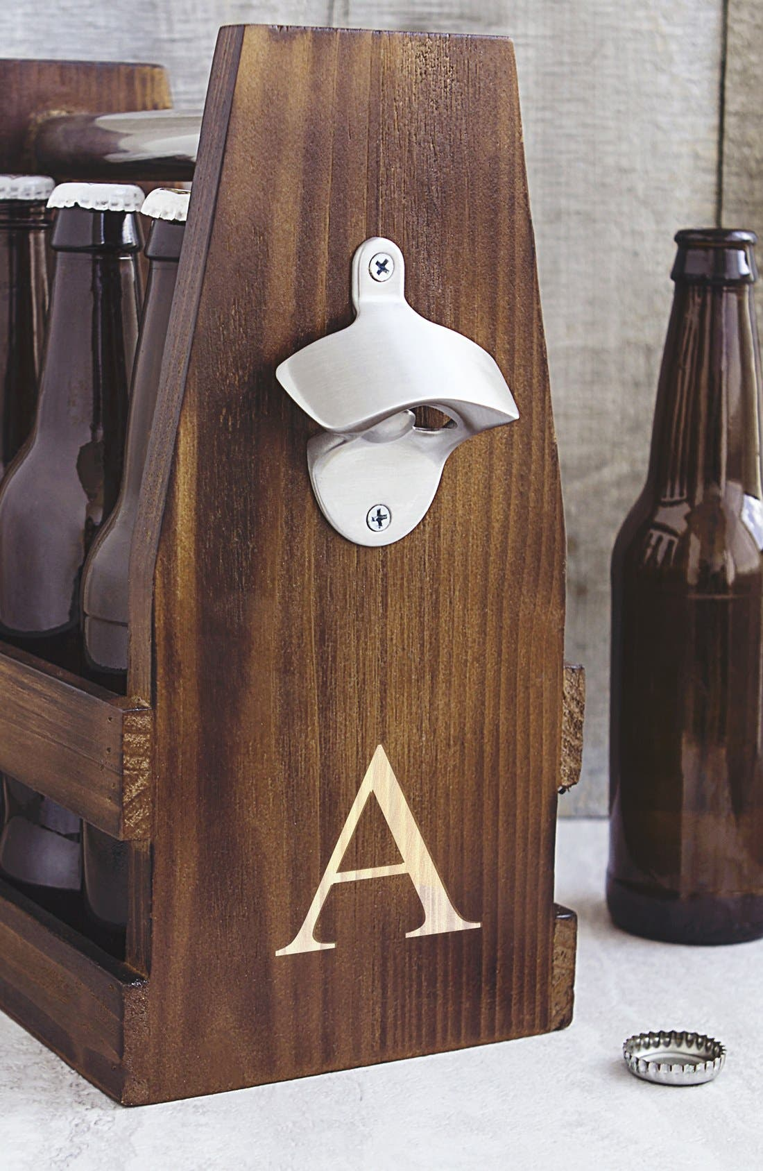 Alternate Image 4  - Cathy's Concepts Monogram Craft Beer Carrier