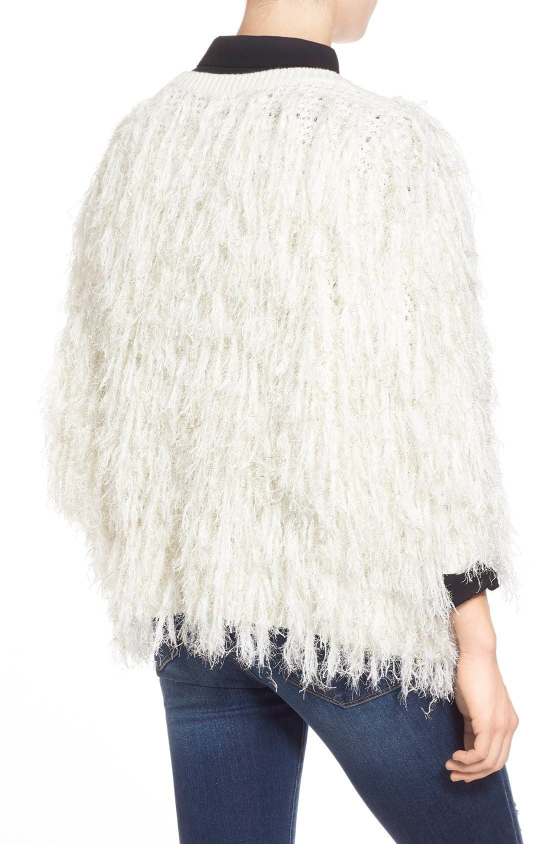 Alternate Image 2  - Leith Shaggy Open Front Cardigan