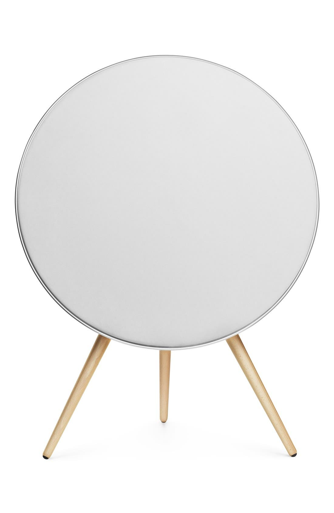 'A9' Bluetooth<sup>®</sup> Speaker,                             Main thumbnail 1, color,                             White