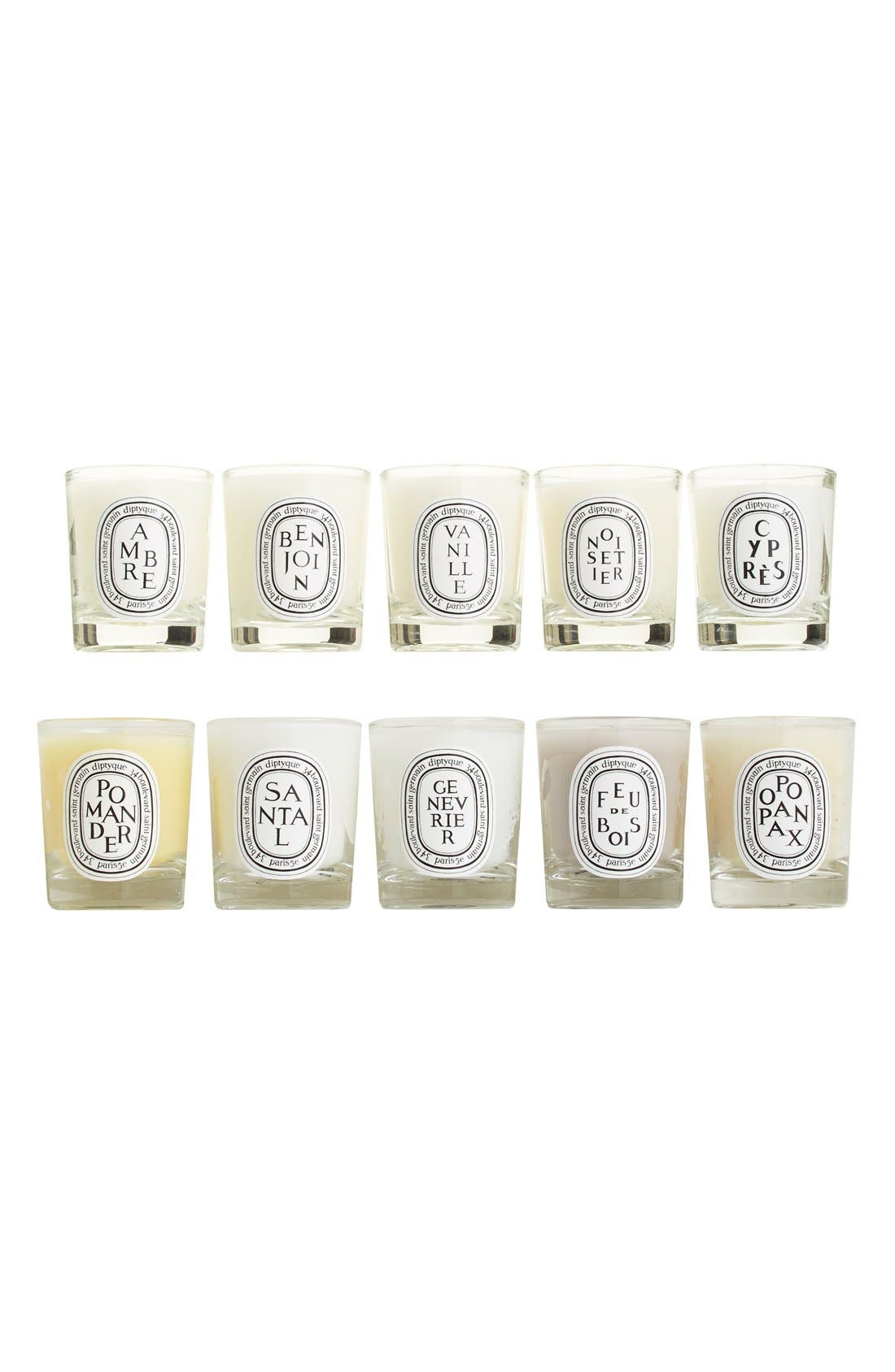 Mini Candle Set,                             Alternate thumbnail 3, color,                             No Color