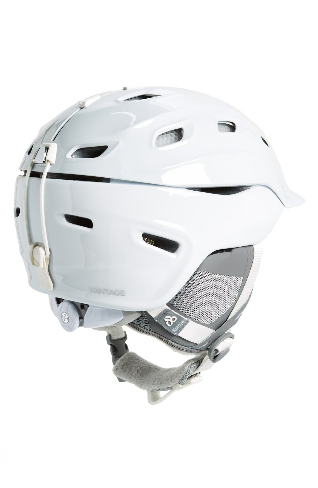 'Vantage' Snow Helmet,                             Alternate thumbnail 2, color,                             White