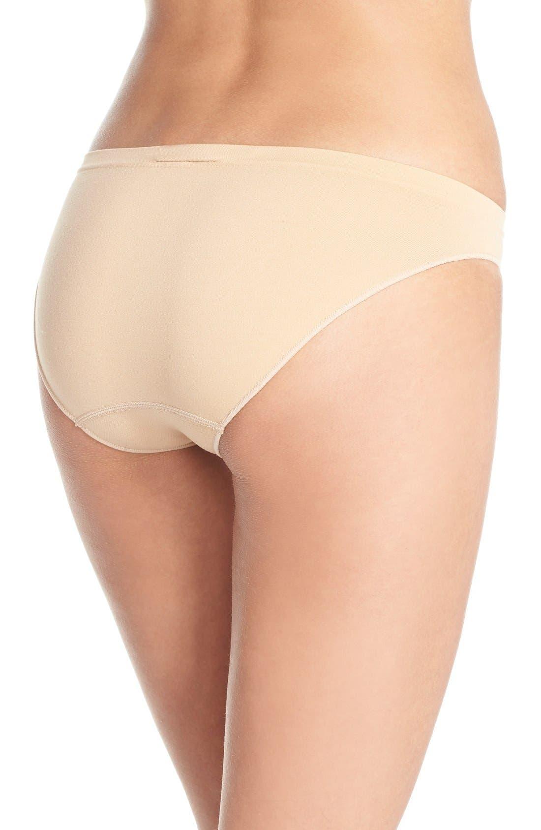 Alternate Image 2  - Calvin Klein 'Pure' Seamless Bikini (3 for $33)