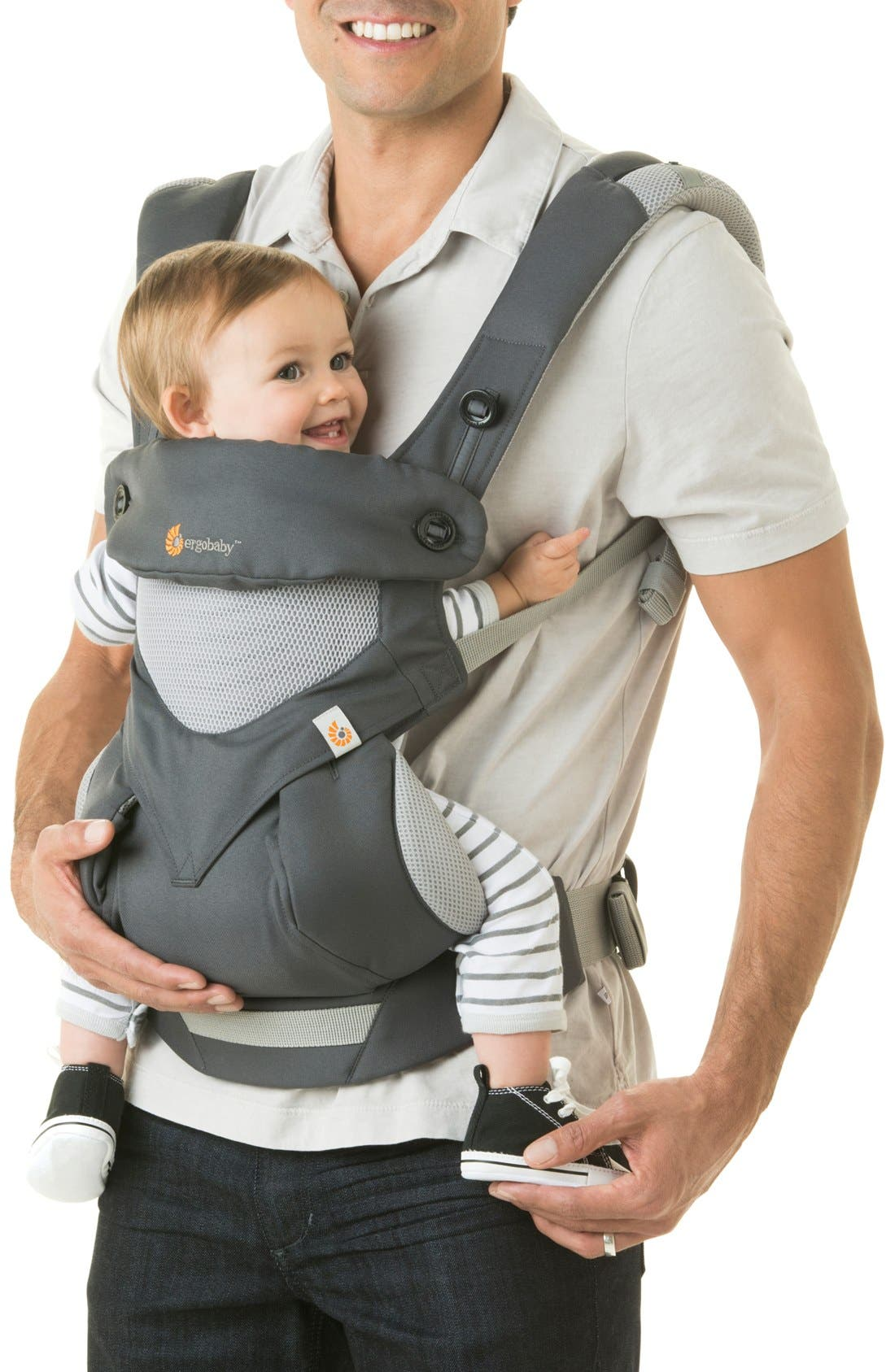 Alternate Image 3  - ERGObaby 'Four Position 360 - Cool Air' Baby Carrier