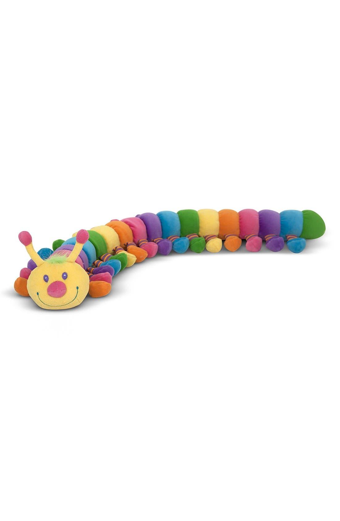 'Longfellow' Plush Caterpillar,                             Alternate thumbnail 3, color,                             Yellow