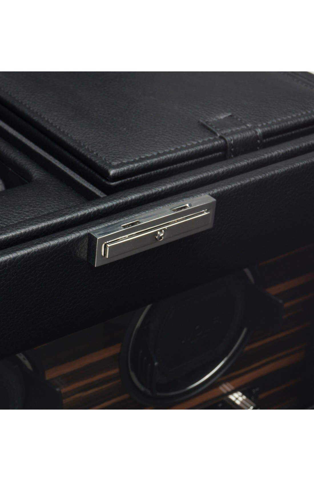 Alternate Image 3  - Wolf Roadster Double Watch Winder & Case