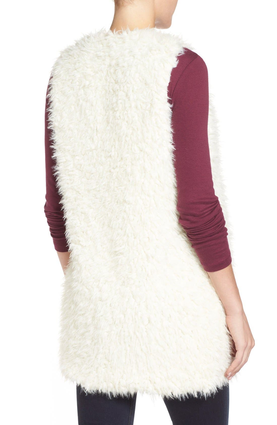 Alternate Image 2  - LAmade 'Mac' Faux Fur Vest