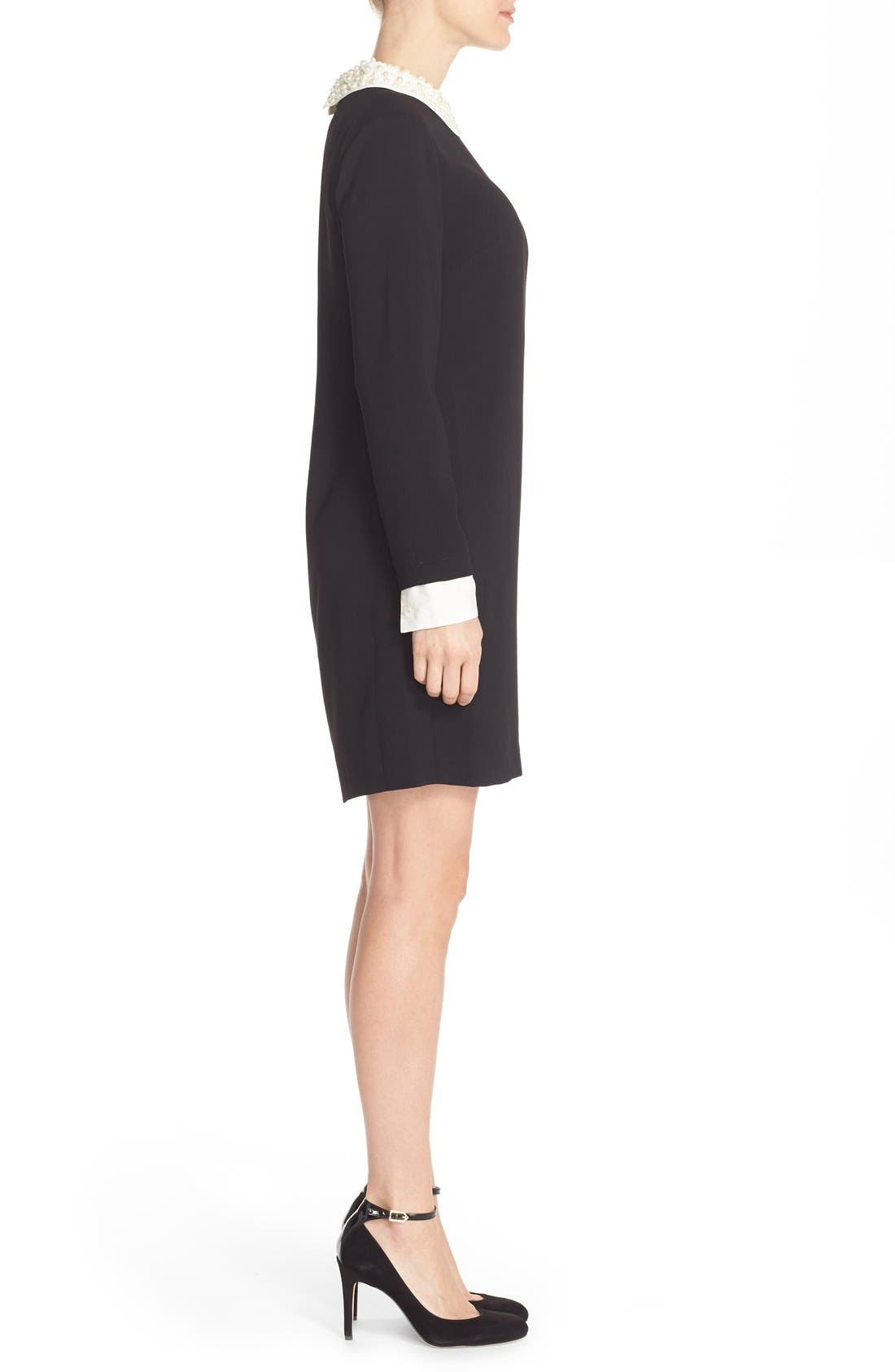 Alternate Image 3  - CeCe by Cynthia Steffe Pearl Collar Crepe Shift Dress