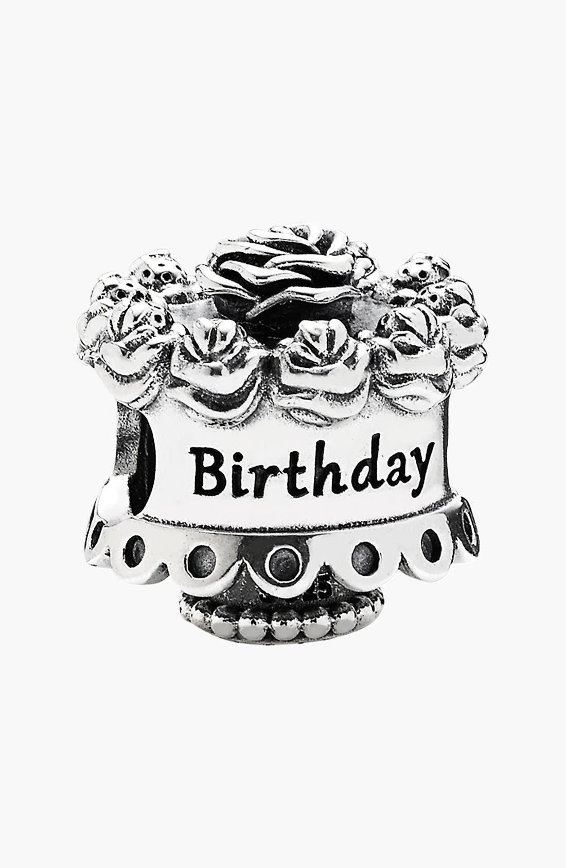 Alternate Image 1 Selected - PANDORA 'Happy Birthday' Bead Charm