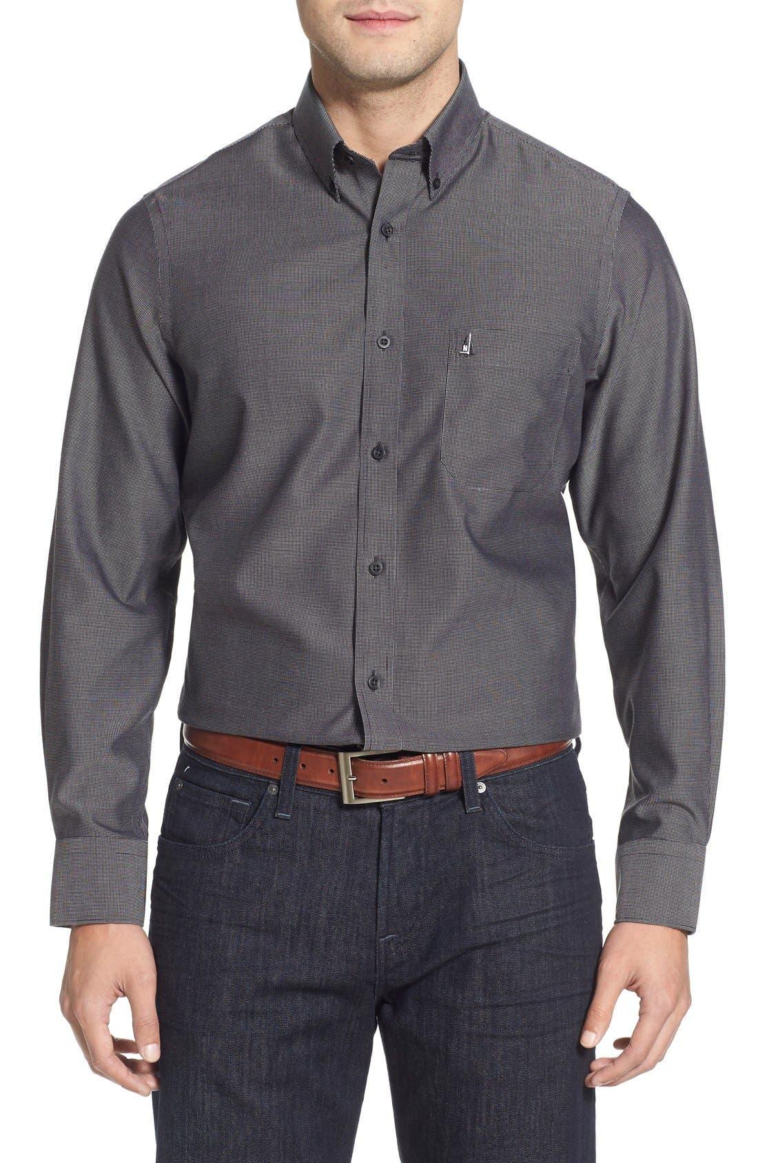 Nordstrom Men's Shop Smartcare™ Regular Fit Sport Shirt (Regular & Tall)