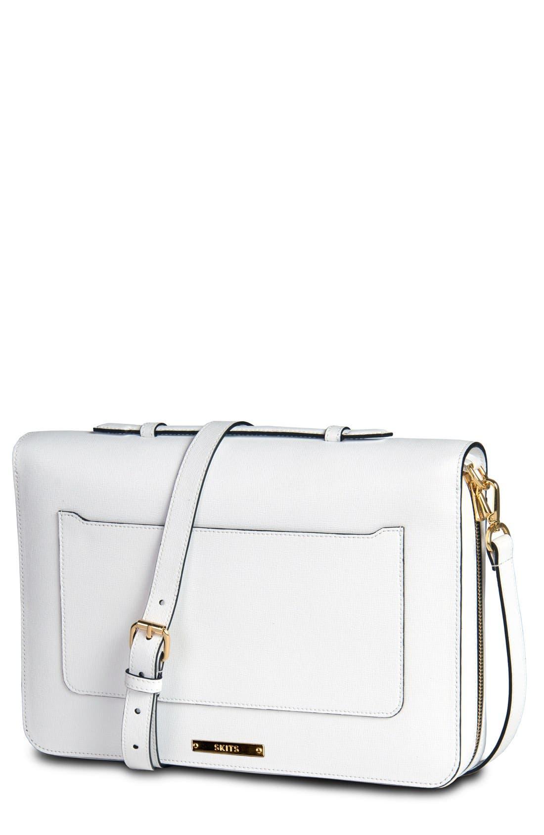 SKITS Providence Brilliant Leather Tech Bag