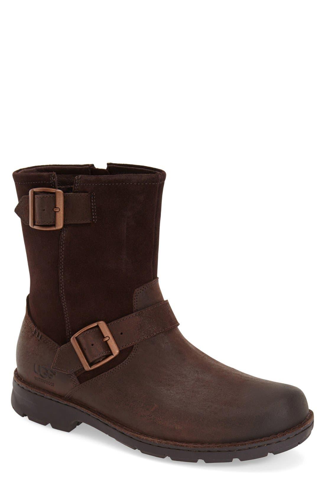 UGG® Messner Waterproof Moto Boot (Men)