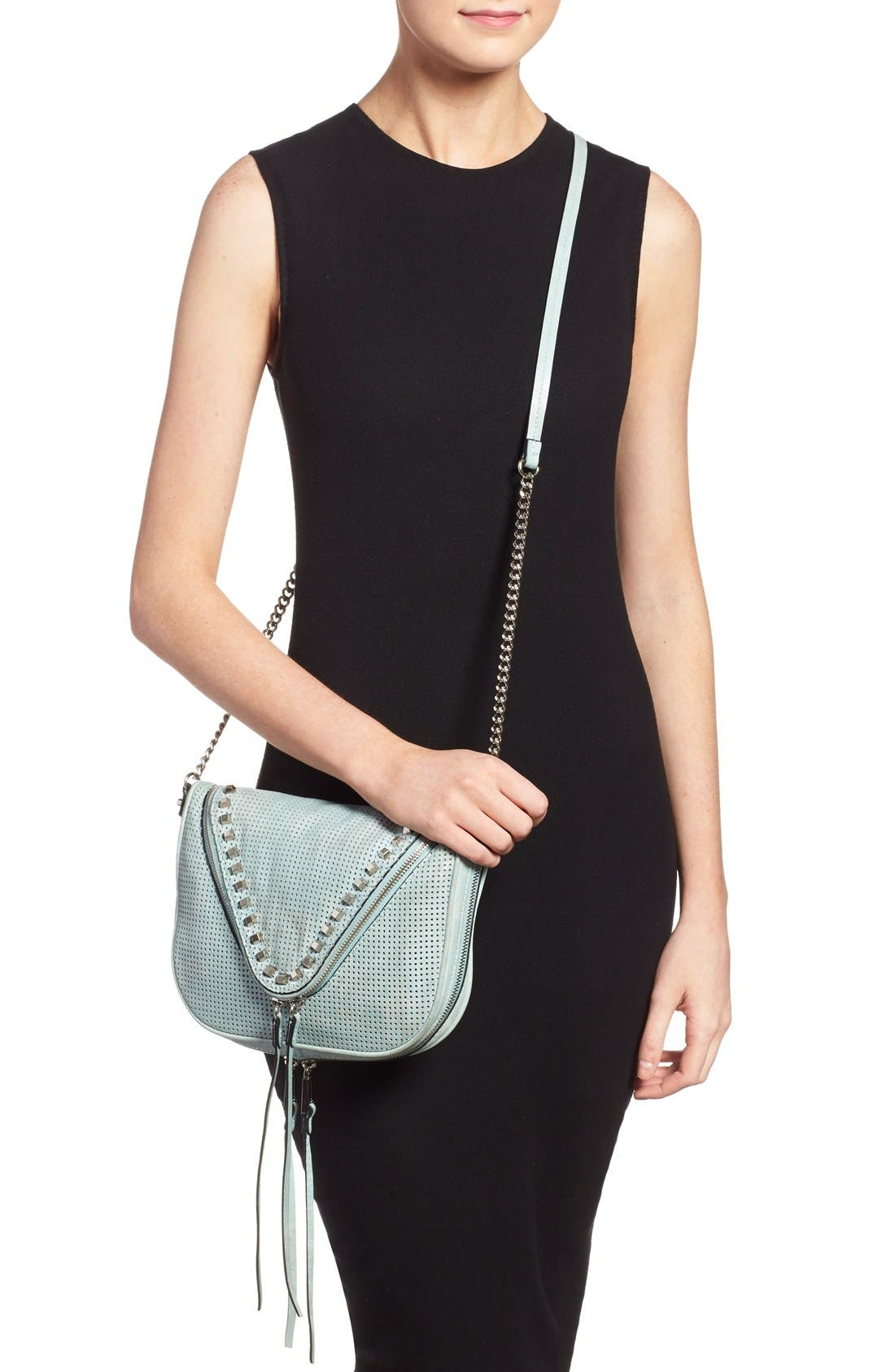 Alternate Image 2  - She + Lo 'Make Your Mark' Leather Crossbody Bag