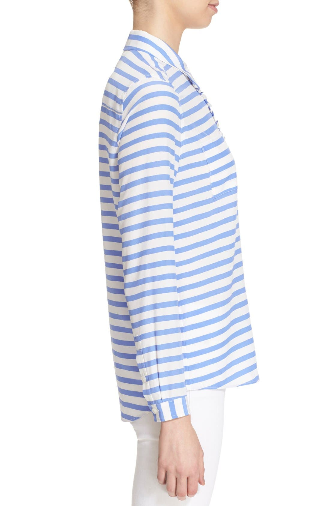 Alternate Image 3  - kate spade new york stripe shirt