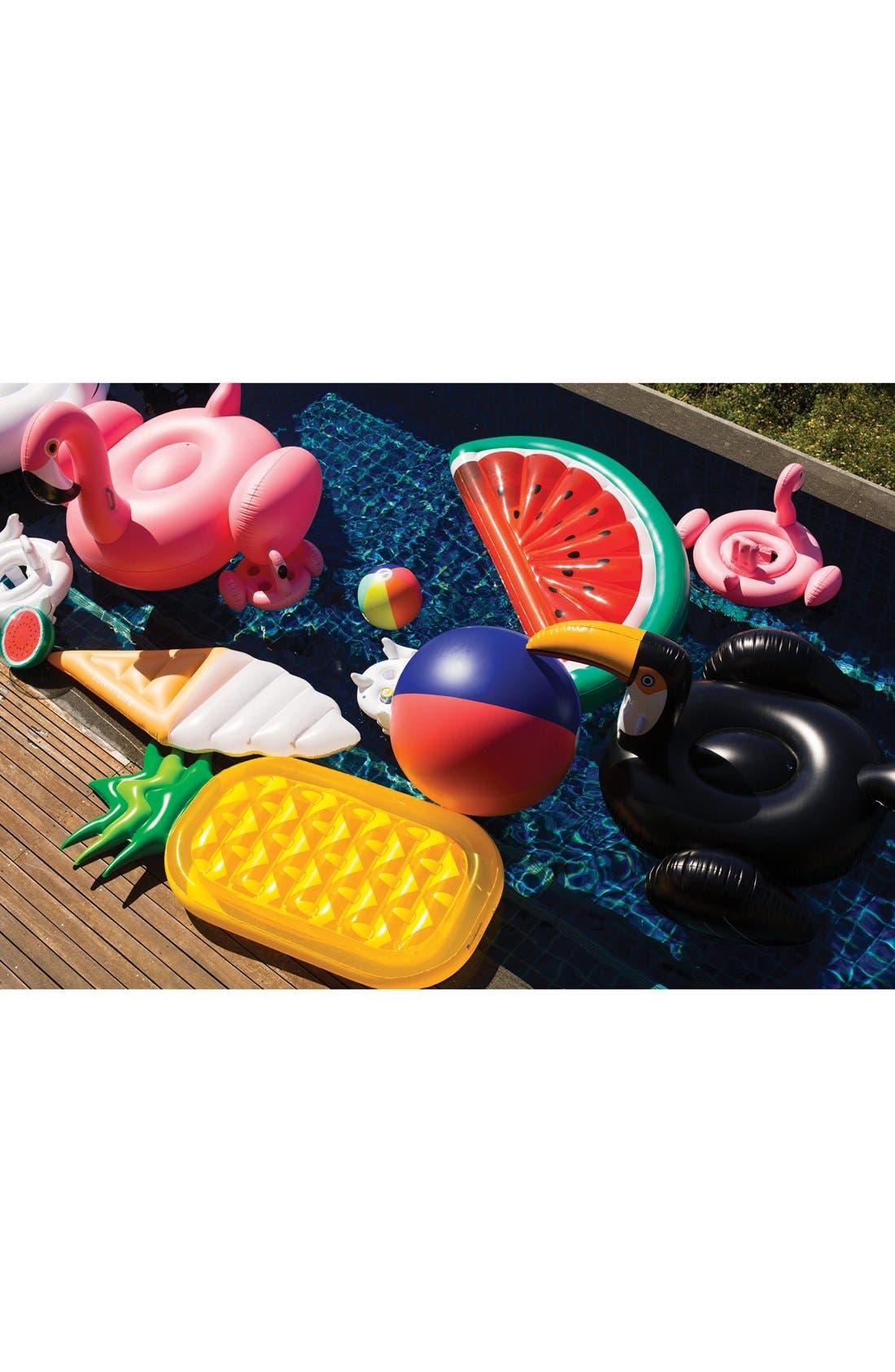 Inflatable Drink Holder Pool Float,                             Alternate thumbnail 5, color,                             Flamingo