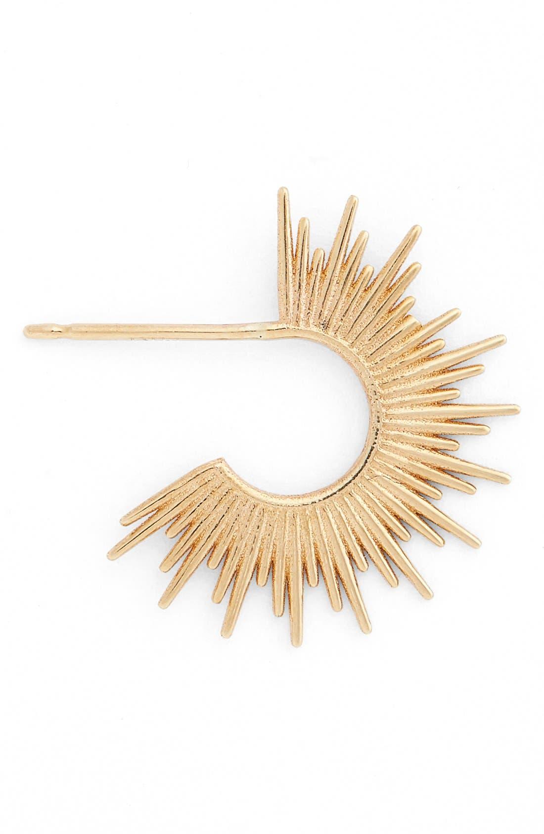 Alternate Image 1 Selected - SARAH & SEBASTIAN 'Nimbus' Single Hoop Earring