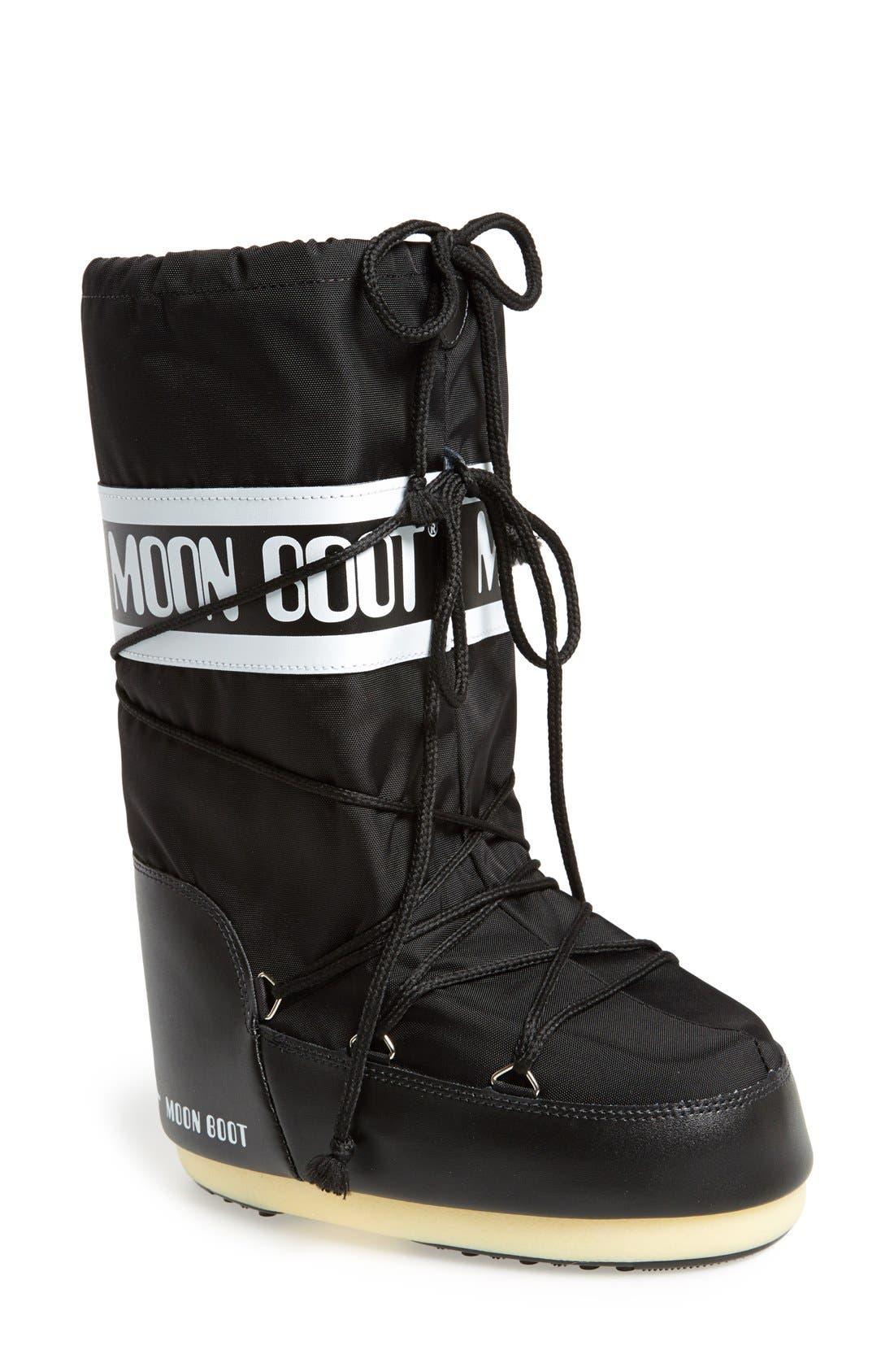 'Original' Moon Boot<sup>®</sup>,                         Main,                         color, Black