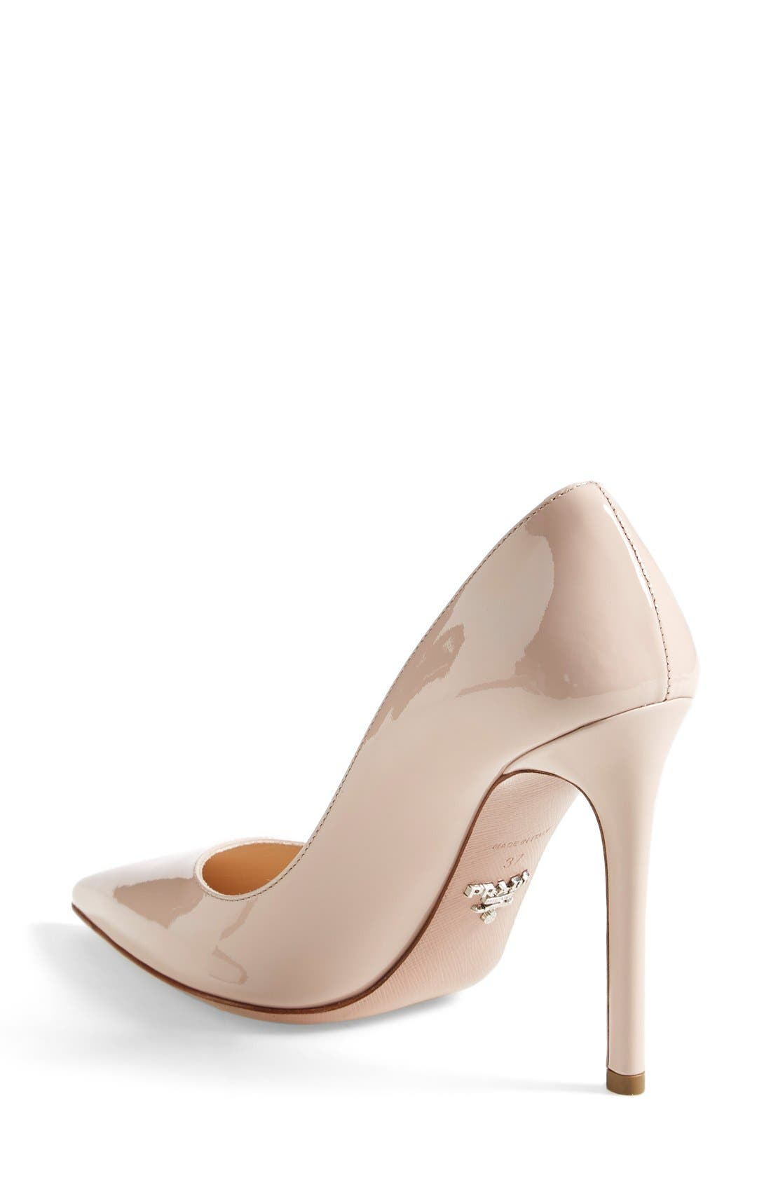 Pointy Toe Pump,                             Alternate thumbnail 2, color,                             Cipria Patent