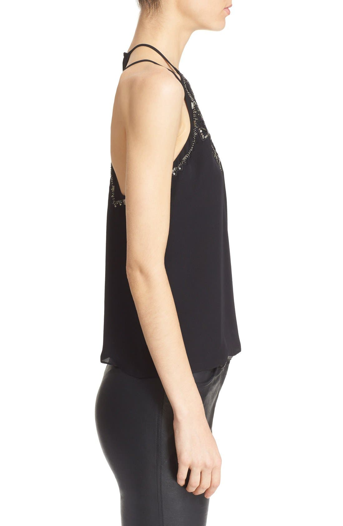 Alternate Image 3  - Parker 'Neil' Embellished Strappy Racerback Tank