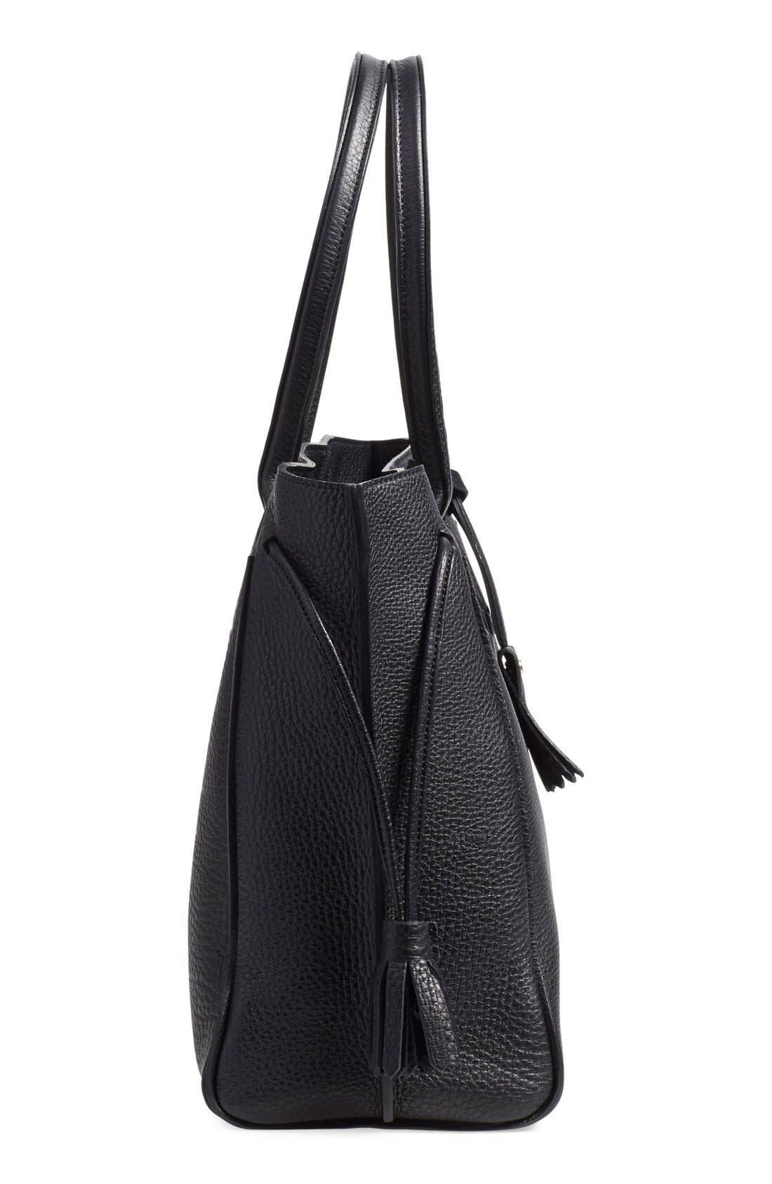Alternate Image 5  - Longchamp 'Penelope' Tassel Drawstring Leather Tote