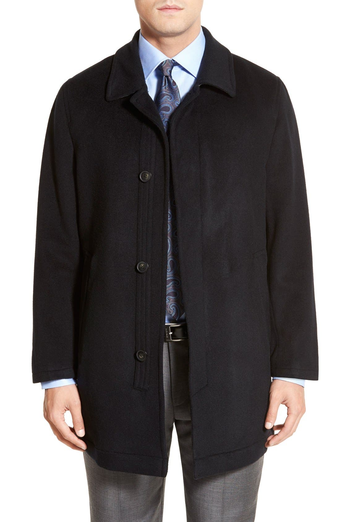 Alternate Image 1 Selected - Hart Schaffner Marx Douglas Modern Fit Wool & Cashmere Overcoat