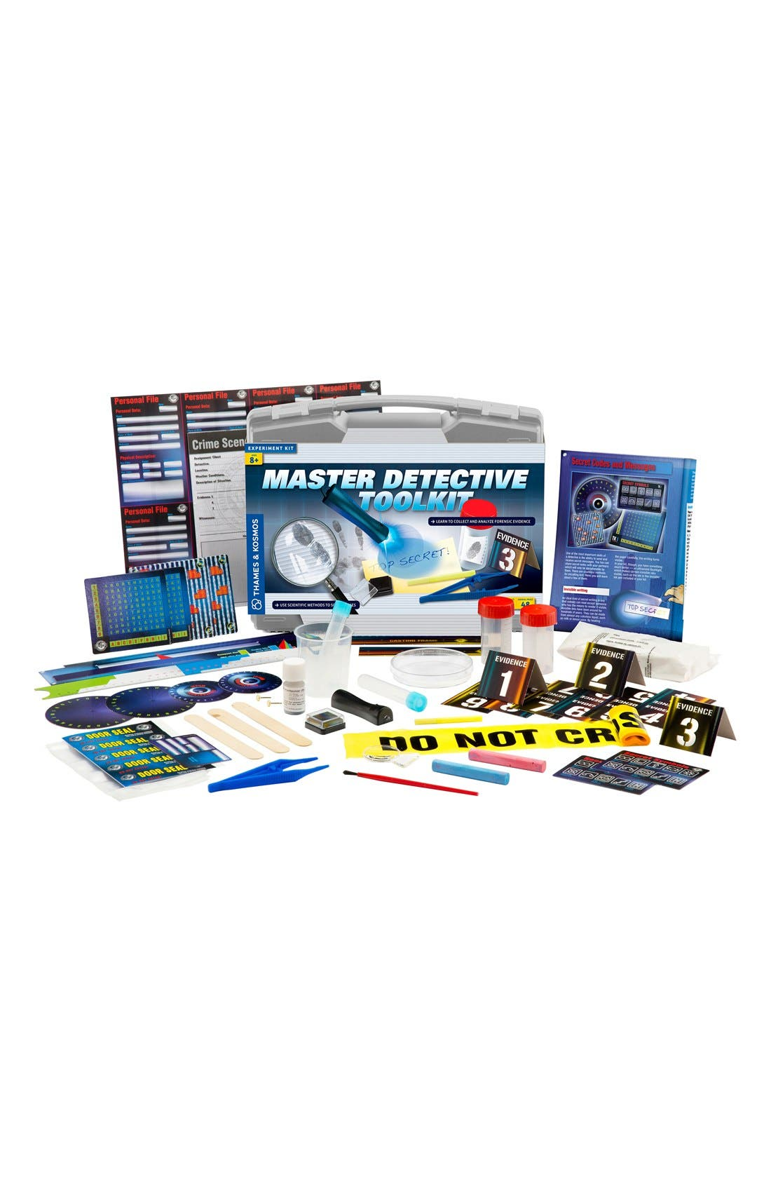 'Master Detective Toolkit' Experiment Kit,                             Alternate thumbnail 3, color,                             Grey