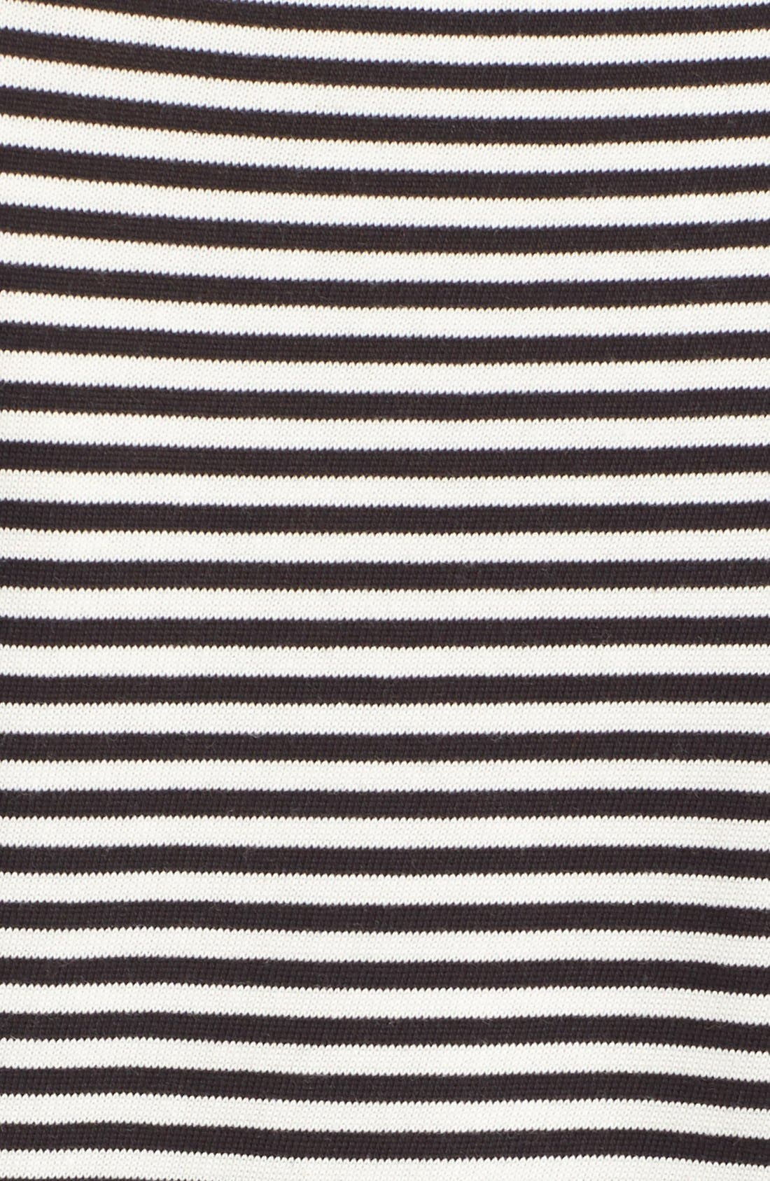 Alternate Image 5  - kate spade new york 'let's fly away' embellished stripe tee