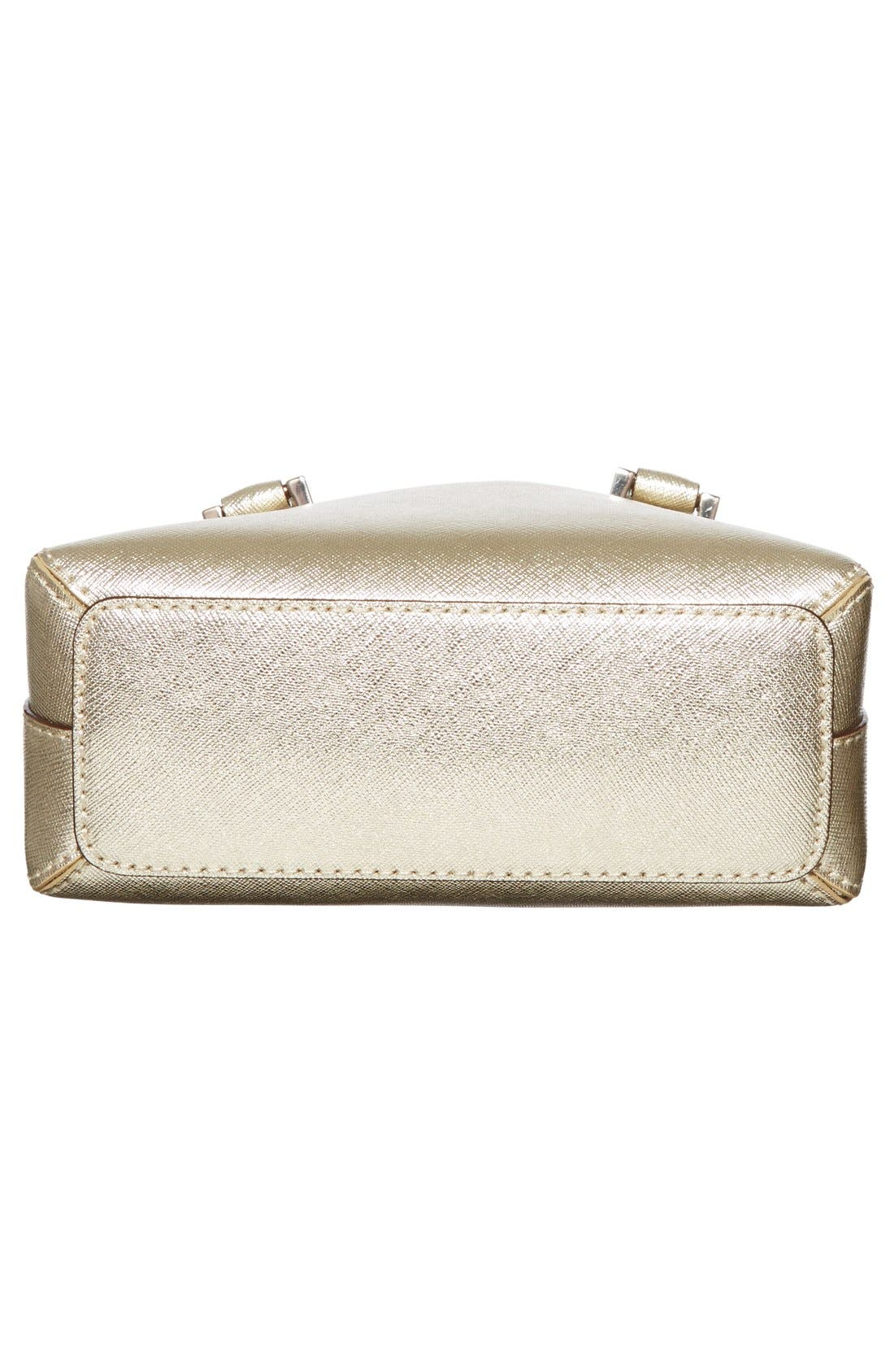 Alternate Image 6  - kate spade new york 'cedar street - mini maise' metallic leather crossbody bag