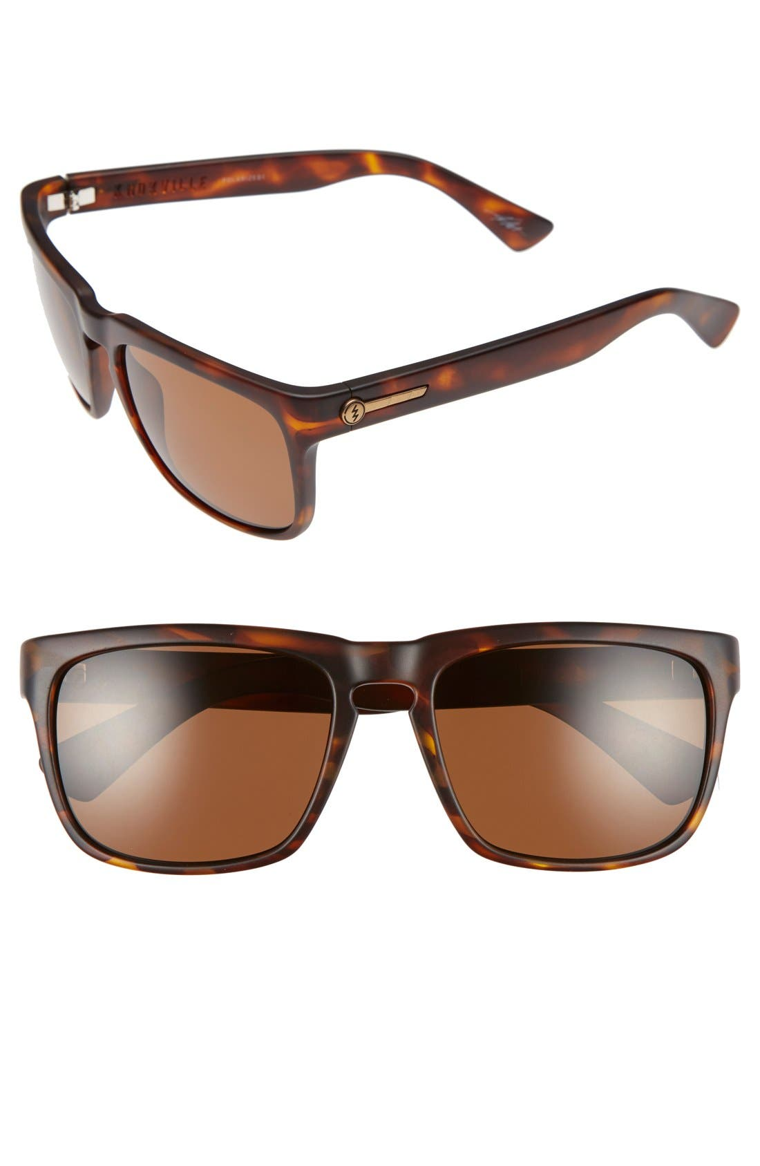 Main Image - ELECTRIC 'Knoxville' 56mm Polarized Sunglasses