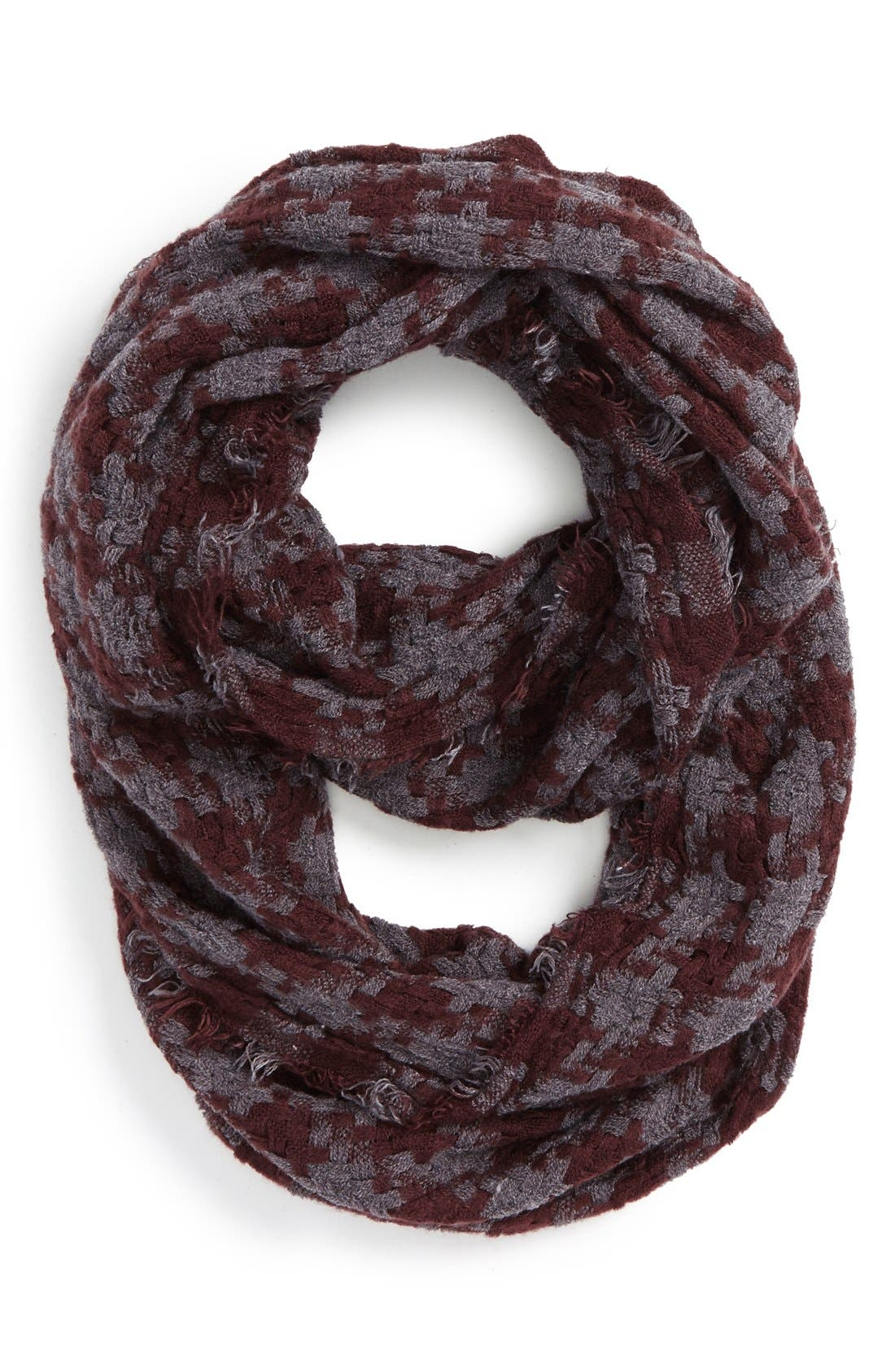 Main Image - BP. Houndstooth Woven Infinity Scarf