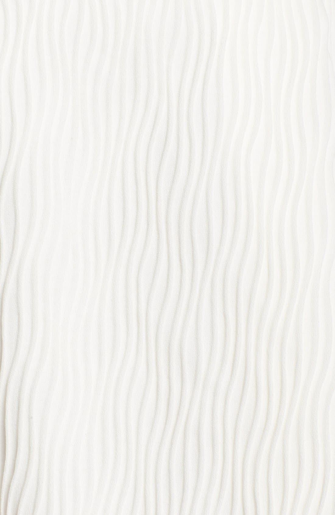 Alternate Image 5  - C/MEO Collective 'Stay Close' Wavy Pleat Midi Skirt