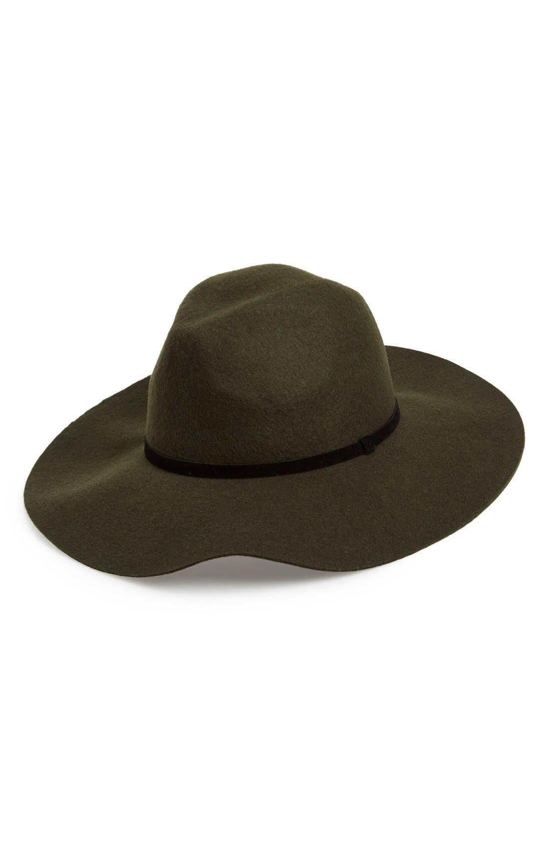 Alternate Image 1 Selected - BP. Floppy Wool Hat