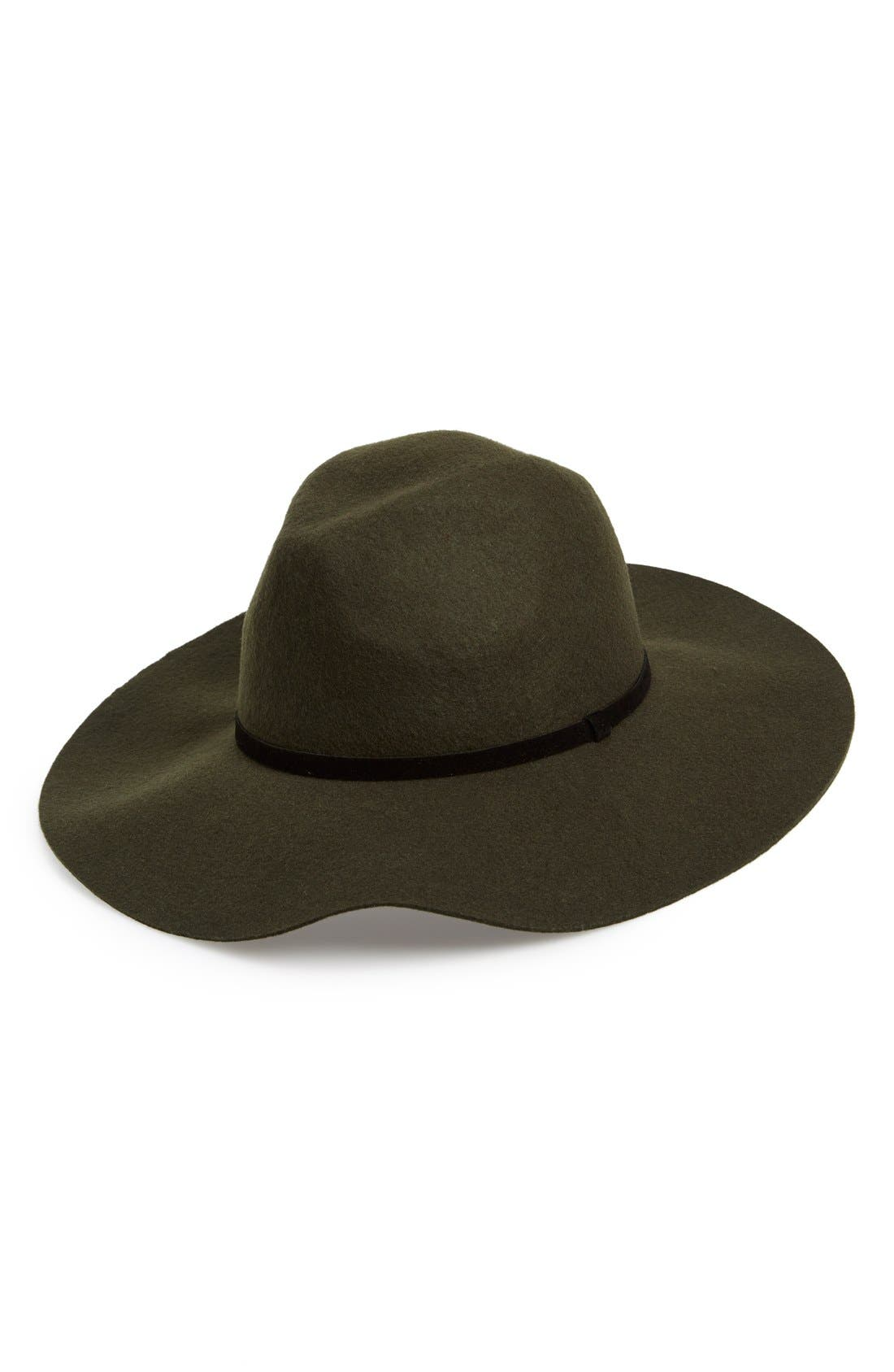Main Image - BP. Floppy Wool Hat