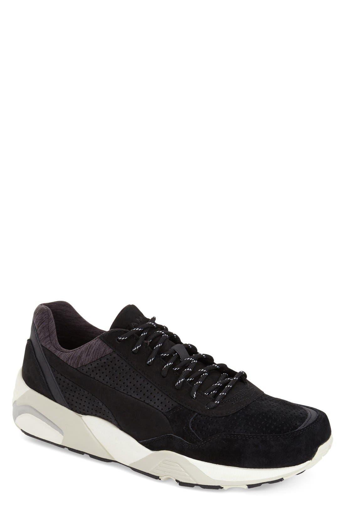 'R698 X STAMPD' Sneaker,                             Main thumbnail 1, color,                             Black