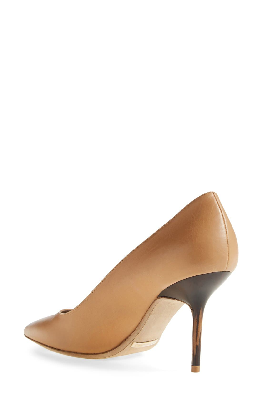 'Mawdesley' Pointy Toe Pump,                             Alternate thumbnail 2, color,                             Nude