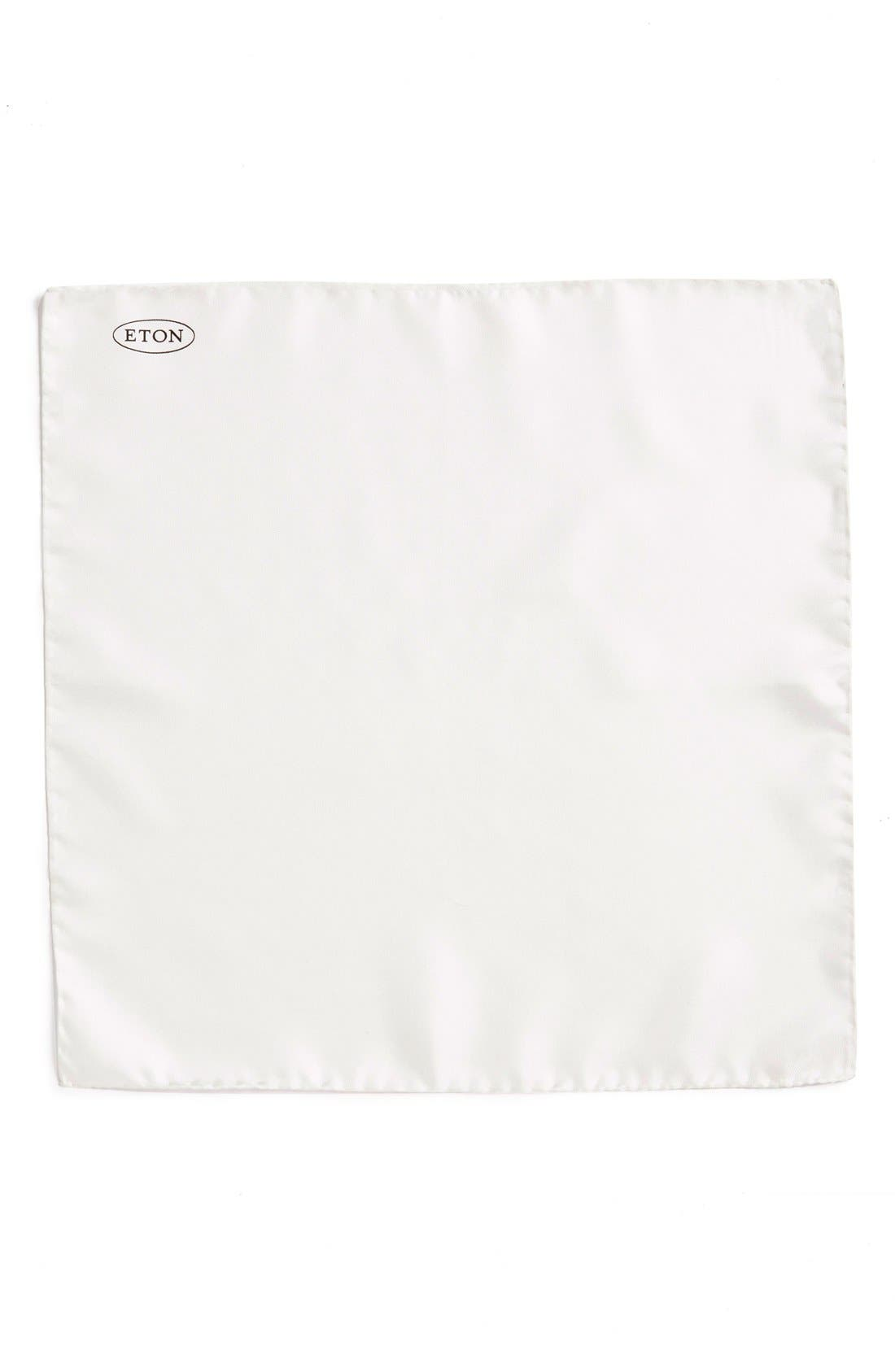 Alternate Image 2  - Eton Silk Pocket Square