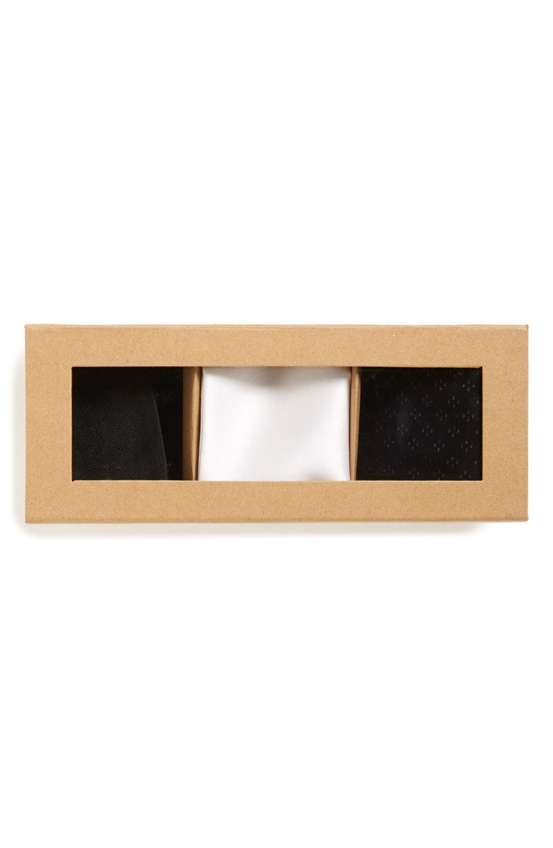 Small Style Box,                             Alternate thumbnail 2, color,                             Black Tie