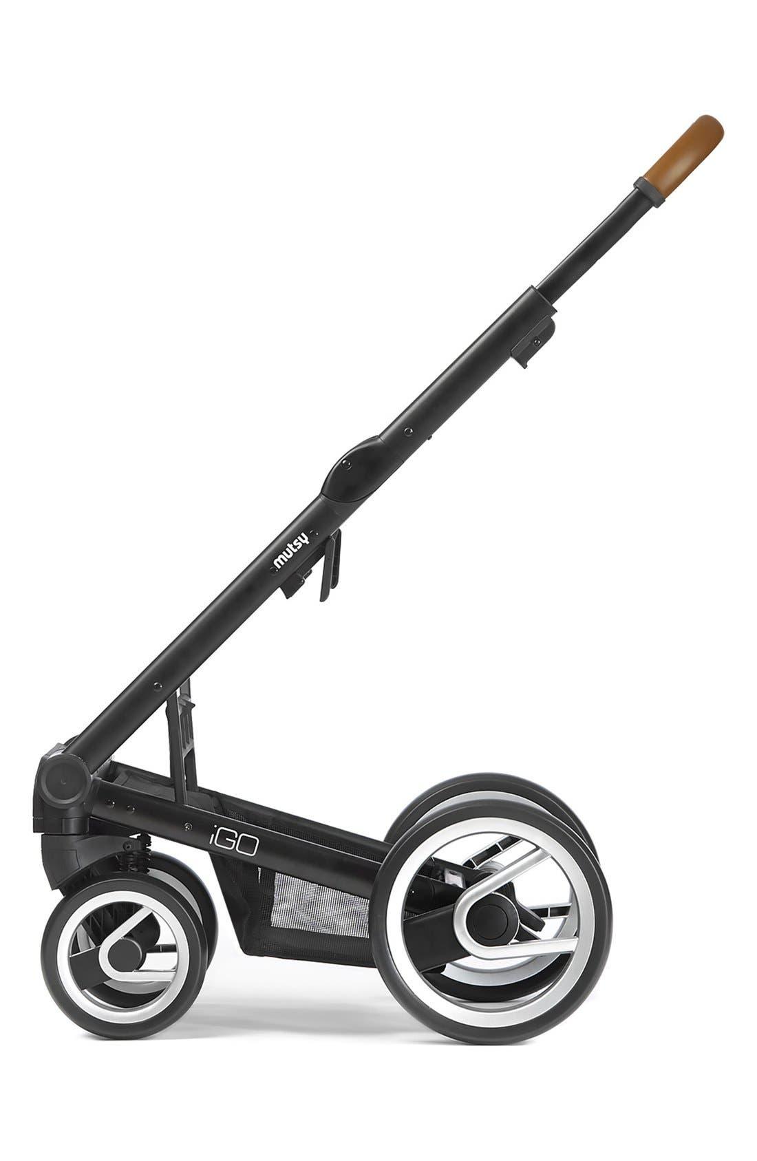 Igo - Urban Nomad Stroller,                             Alternate thumbnail 5, color,                             Black/ White/ Blue
