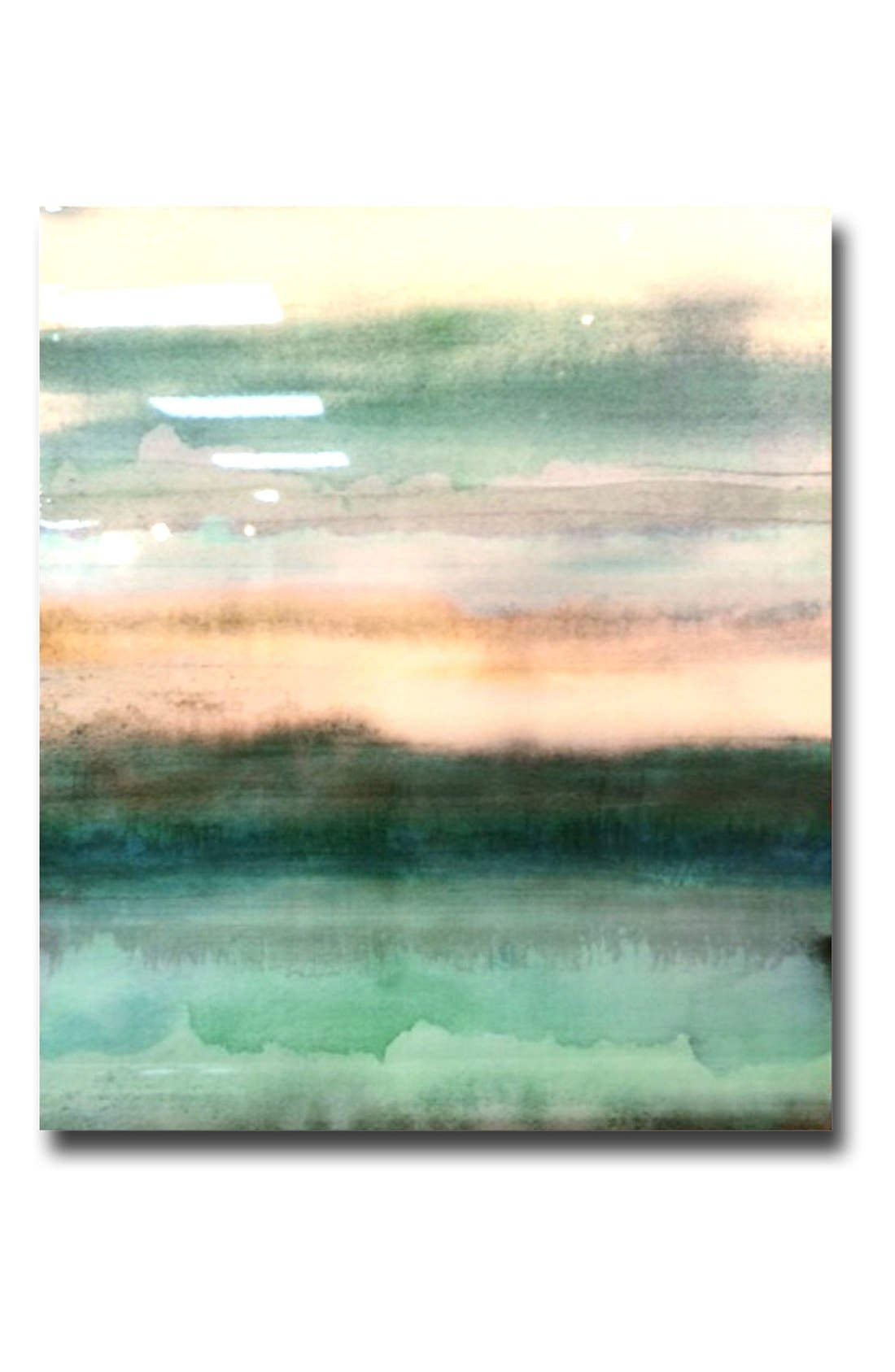 Alternate Image 2  - Crystal Art Gallery 'Shades of Green' Canvas