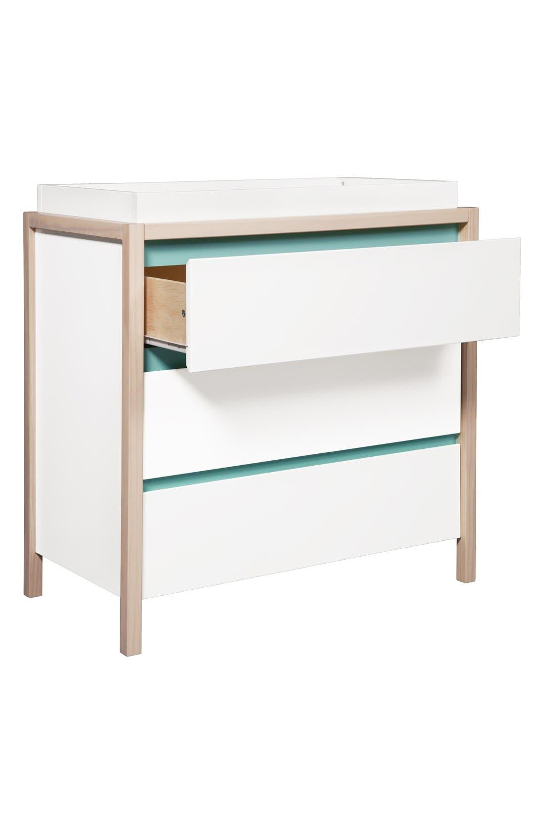 Alternate Image 3  - babyletto 'Bingo' Three Drawer Changer Dresser