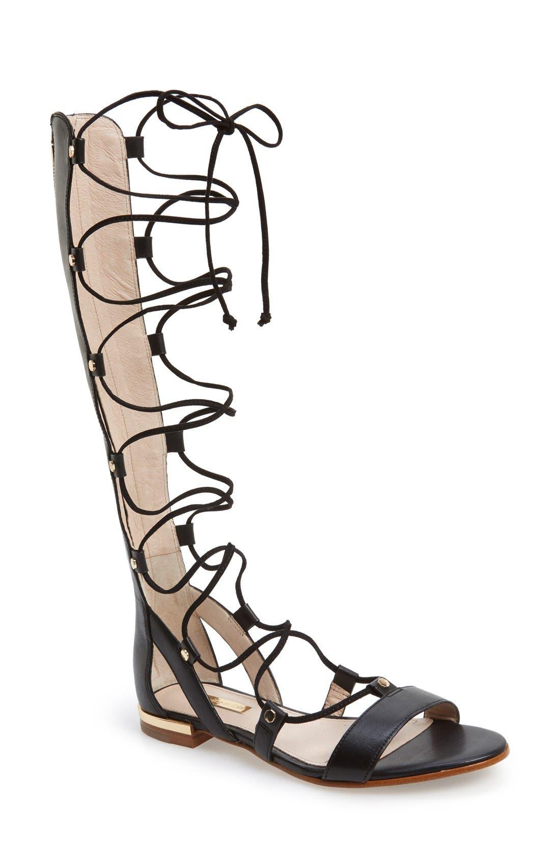 Alternate Image 1 Selected - Louise et Cie 'Kaelyn' Tall Gladiator Sandal (Women)