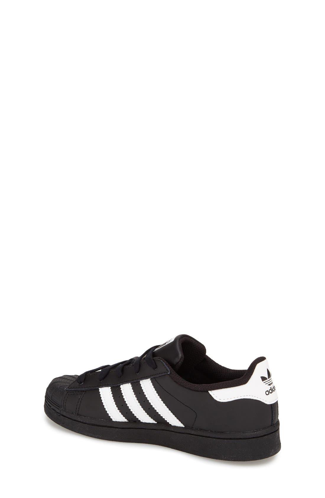 Alternate Image 4  - adidas 'Superstar' Sneaker (Baby, Walker, Toddler, Little Kid & Big Kid)