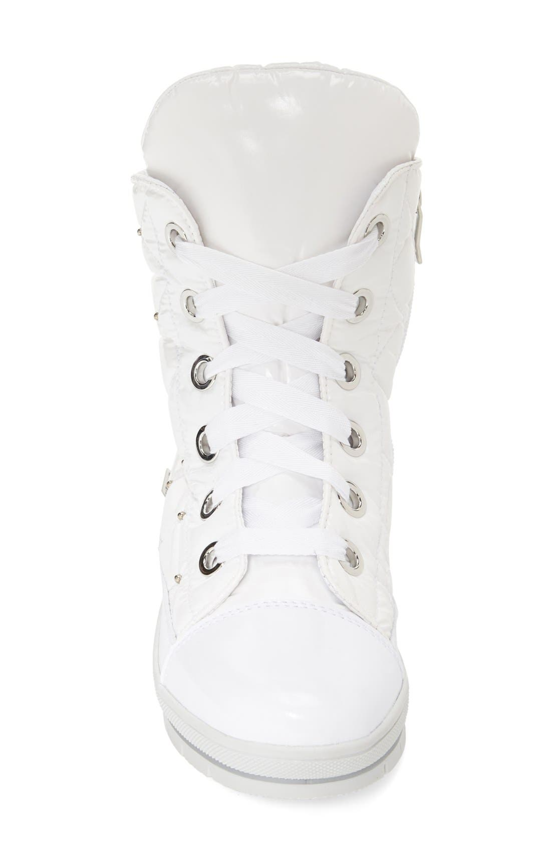 Alternate Image 3  - JOG DOG Waterproof Quilted Lace-Up Boot (Women)