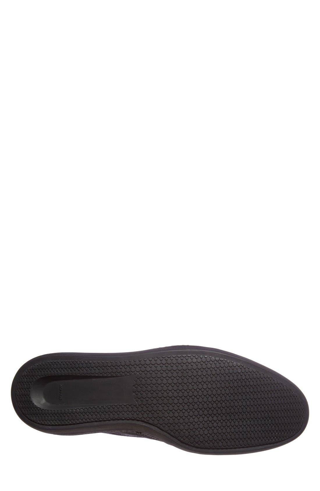 'Bordeau' Sneaker,                             Alternate thumbnail 4, color,                             Black