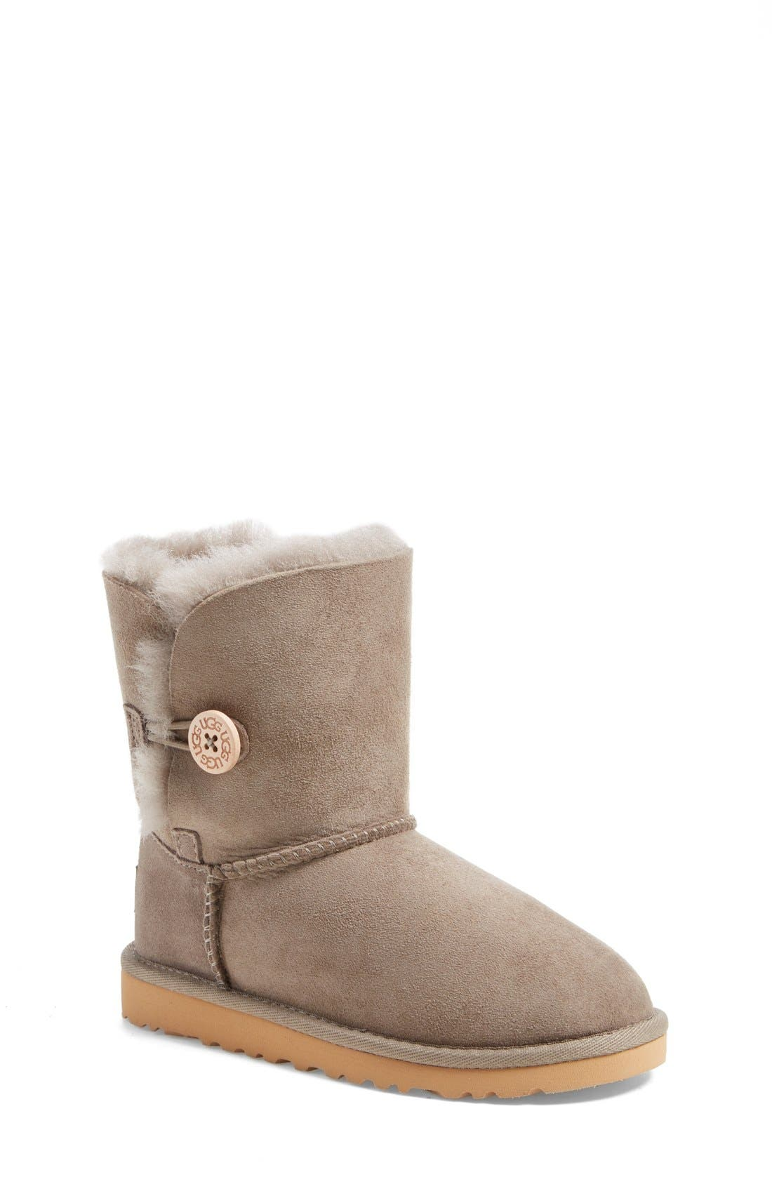 Alternate Image 1 Selected - UGG® 'Bailey Button' Boot (Walker, Toddler, Little Kid & Big Kid)